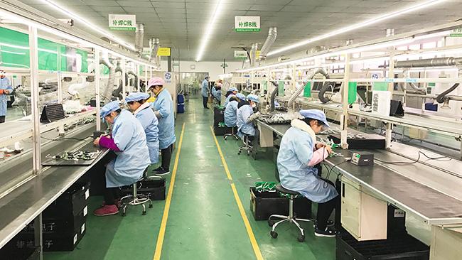 联力股份公司开展劳动节职工技能竞赛